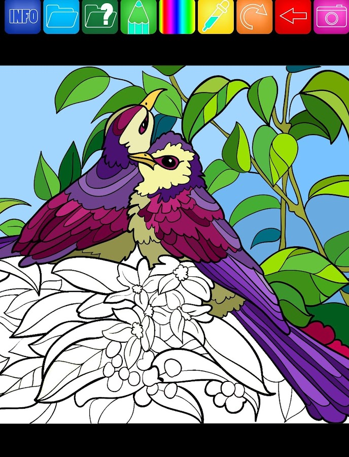 Coloring Expert Coloring Book- screenshot