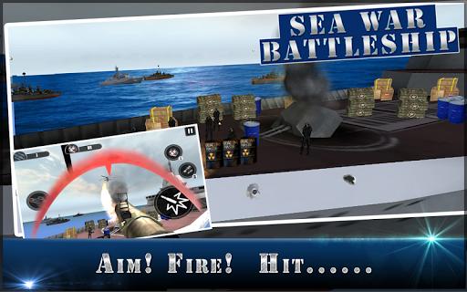海の戦争戦艦