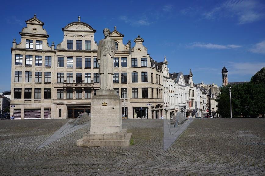 Place de l'Albertine in Brussels, Belgium (2014)