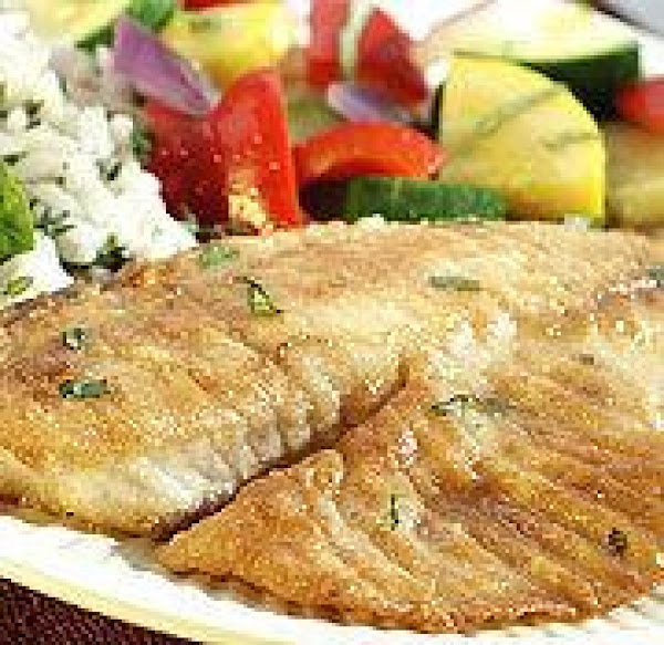 Tilapia With White Butter Sauce And Herbs Recipe