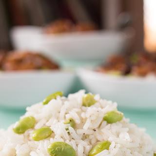 Edamame-Ginger Rice.