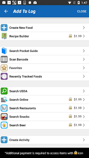 (APK) تحميل لالروبوت / PC iTrackBites: Smart Weight Loss تطبيقات screenshot