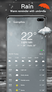 الطقس: توقعات الطقس الحية وعناصر الطقس 2