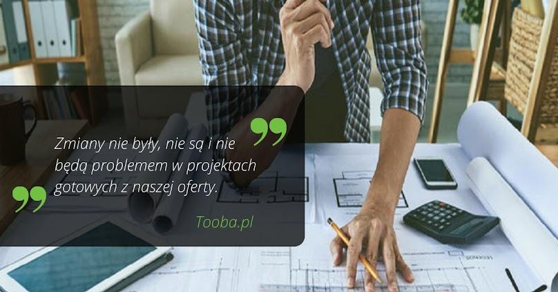Zmiany w projektach domów Tooba.pl