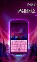 Screenshot of Pink Panda Keyboard