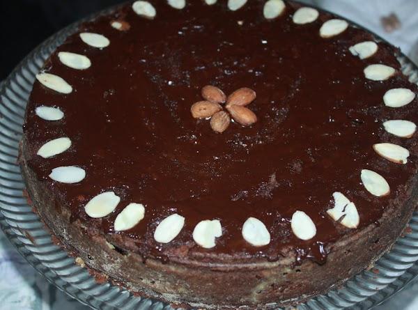 Chocolate Almond Cake For Your Valentine Recipe