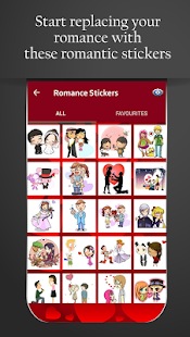 Love Chat Stickers - Romantic Love Stickers- screenshot thumbnail