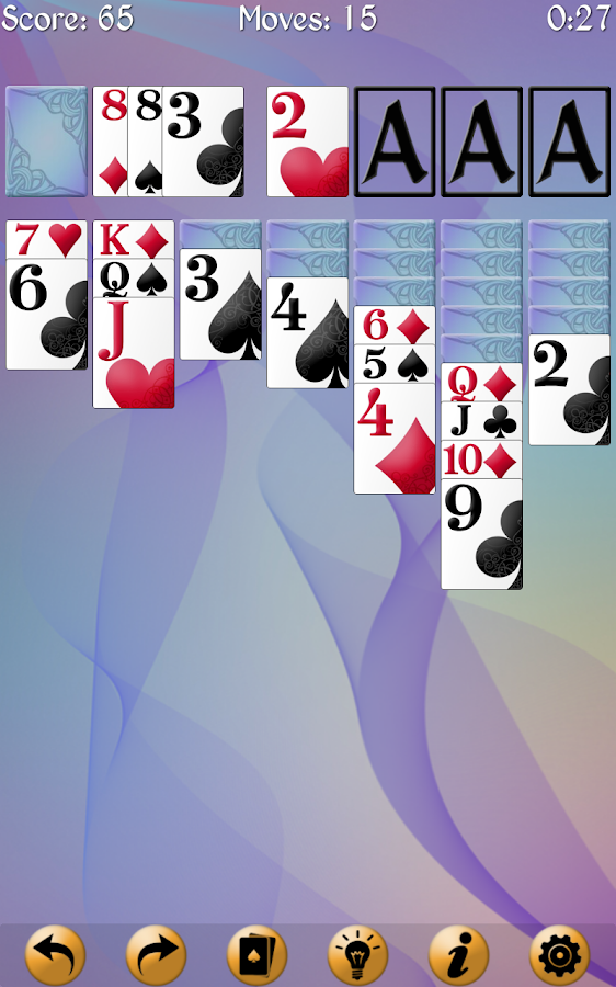 Screenshots of Solitaire MegaPack for iPhone