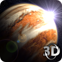 Venus in HD Gyro 3D Free icon