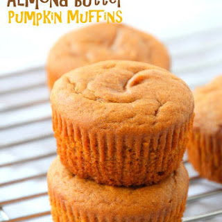 Flourless Almond Butter Pumpkin Muffins