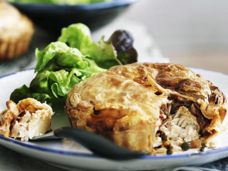 Fish Pot Pies Recipe