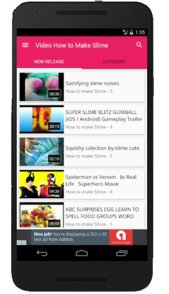 Video how to make slime android apps on google play video how to make slime screenshot ccuart Images