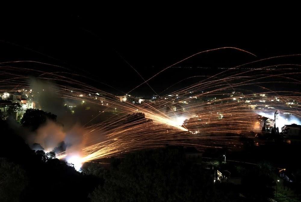 Vrontados, a cidade da guerra de foguetes