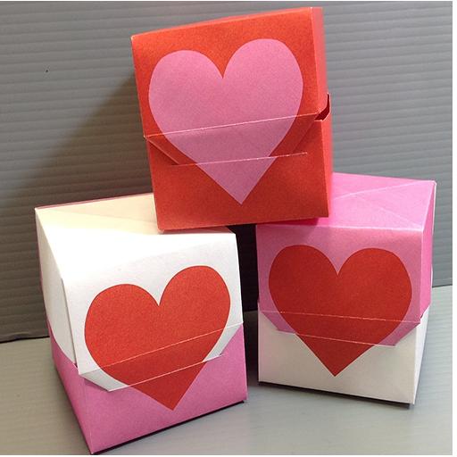 簡単 折り紙:折り紙 バレンタイン-searchapp.soft4fun.net