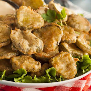 Copycat Texas Roadhouse Fried Pickles.