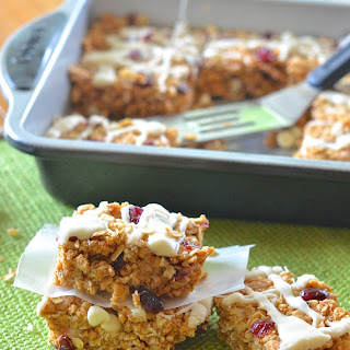 White Chocolate Cranberry Protein Bars.