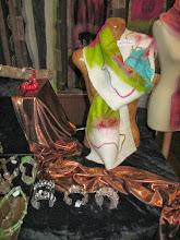 Photo: Prachtige vilten sjaal van Rina Munster