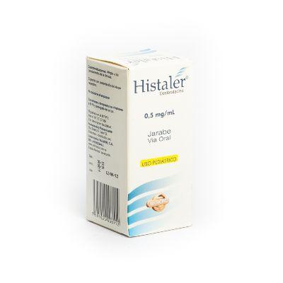 Desloratadina Histaler Jarabe 0,5mg/mL x 60 ml Valmor