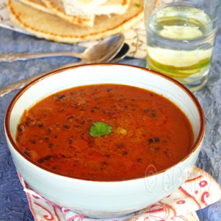 Dal Makhani/Lentils Simmered in Creamy Tomato Sauce