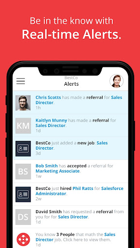 Screenshot for ERIN | Employee Referrals in United States Play Store