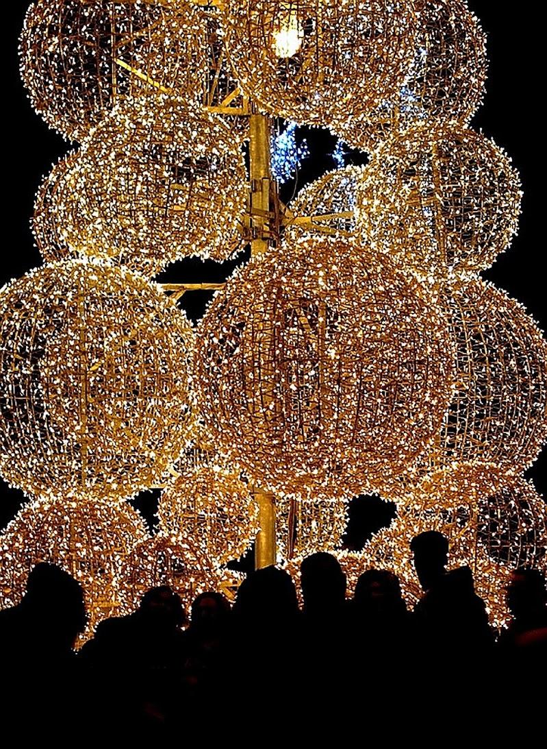 Silhouette natalizie... di Francesco Abate