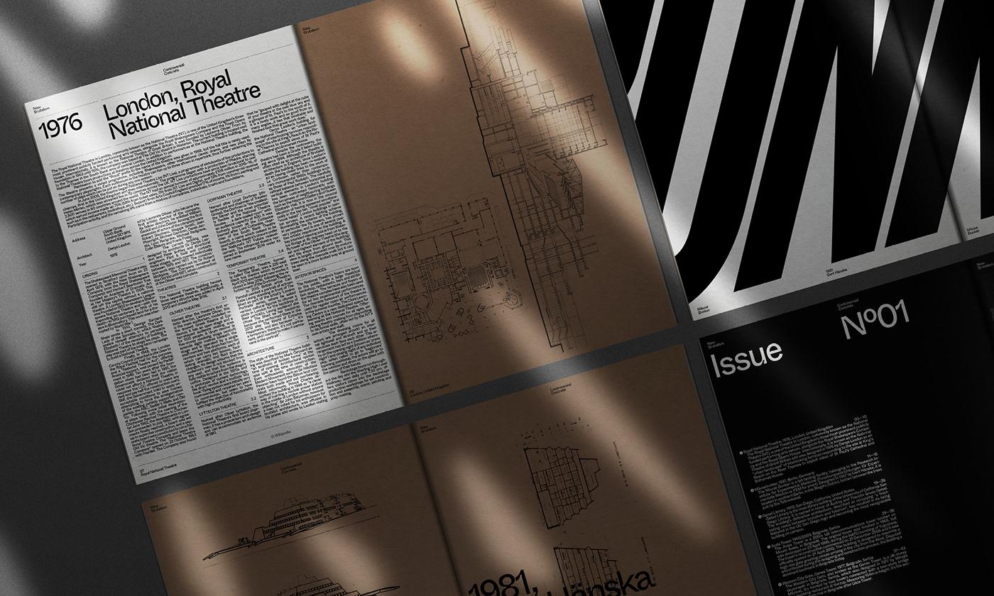 Editorial Design : New Brutalism Controversial Concrete 7