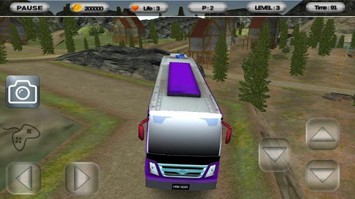 Offroad Mountain Bus sim 2016