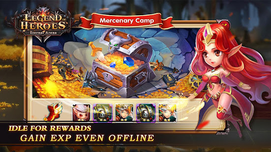 Hack Game Legend of Heroes : Eternal Arena apk free