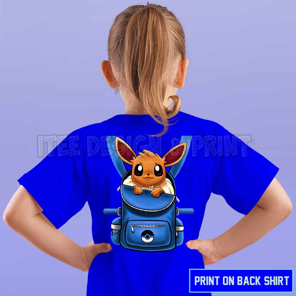 Eevee Pokemon Backpack 22