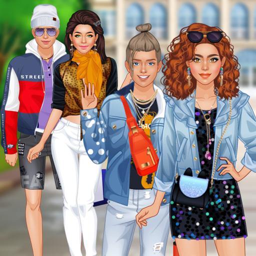 Семья Суперзвед - Семейные одевалки