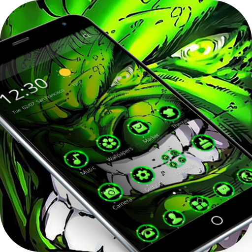 Super Green Giant Hero Theme file APK Free for PC, smart TV Download