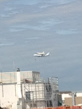 Photo: @jfkucinich Jackie Kucinich, political reporter The shuttle flys by the Washington bureau