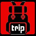 booking flight & hotel icon
