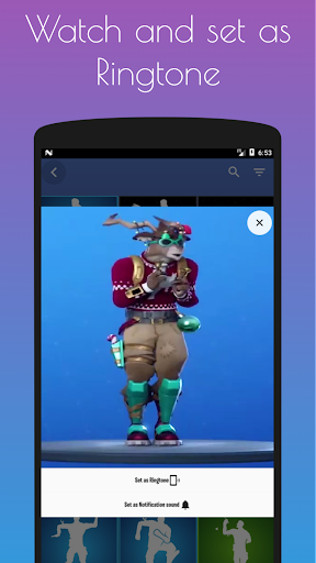Emotes Ringtones And Daily Shop for Battle Royale screenshot 2