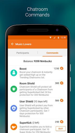 Nimbuzz screenshot 5