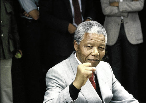 Nelson Mandela, who would be turning 100 years old tomorrow, said 'Overcoming poverty is not a gesture of charity. It is an act of justice.' / Pierre Oosthysen