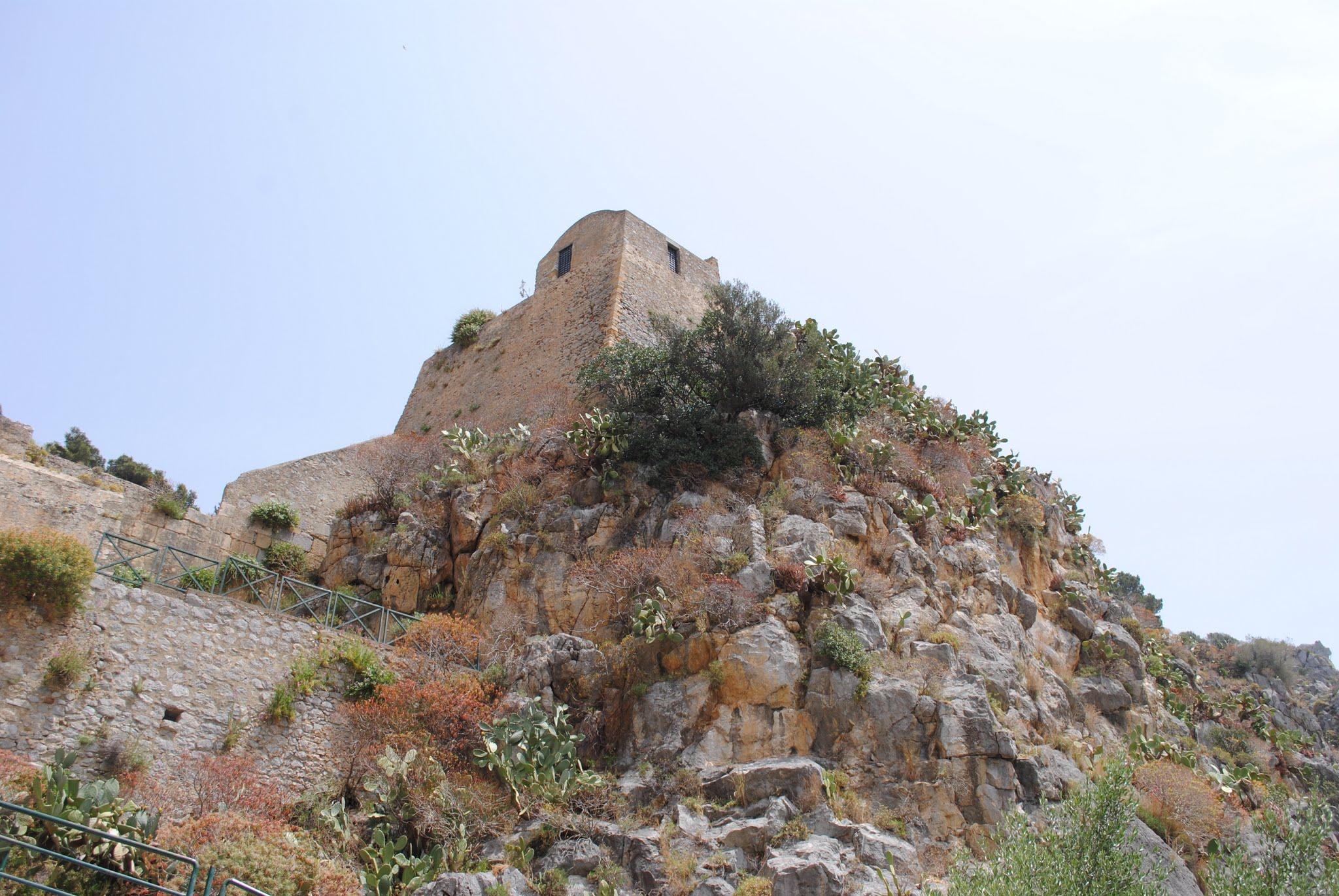 My Photos: Italy -- Mosaics -- Sicily -- Cefalù -- La Rocca