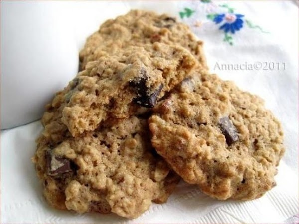 Diabetic Oatmeal Cookies With Chocolate Chunks And Recipe