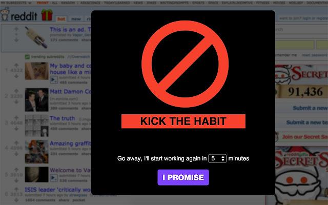 Social Habit Disruption