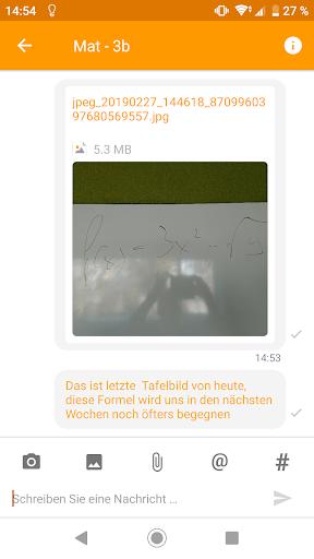 Untis Messenger  screenshots 3
