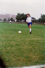 Photo: 1991 Kuhar Kristijan U Medulinu  Utakmica sa Marčanom na turniru 4 ekipe (Štinjan, Medulin, Ližnjan, Marčana)
