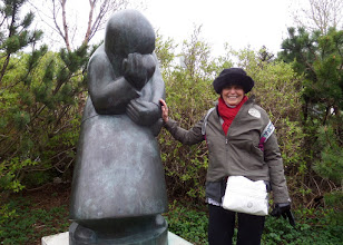 Photo: I arrived in Iceland around 7 AM on May 23nd.  We took a walk near our hotel and visited a sculpture garden.