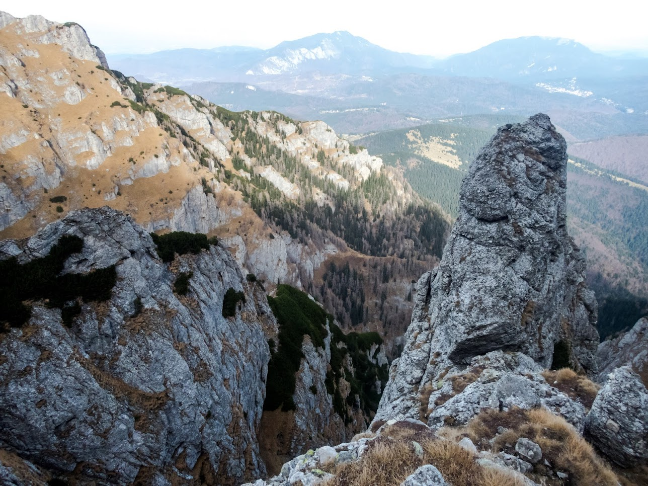 Valea Adâncă, Brâul Portiţei (Munţii Bucegi)