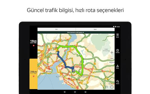 Yandex Navigasyon - Trafik, GPS ve Haritalar Ekran Görüntüsü