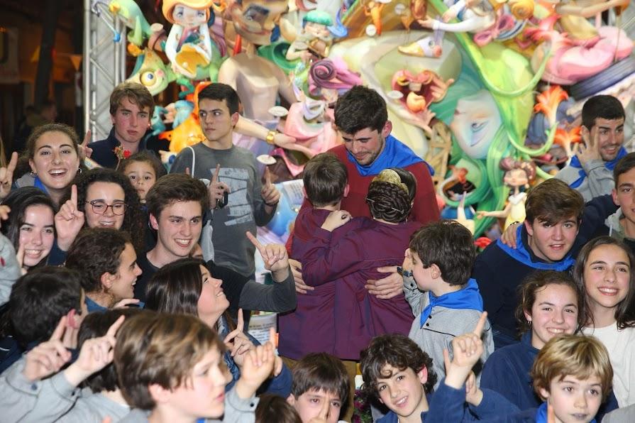 Maestro Gozalbo - Conde de Altea. Primer premio Sección Especial Infantil.