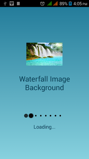 Waterfall Image Background