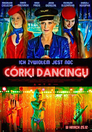 Polski plakat filmu 'Córki Dancingu'