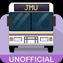 The JMU Bus App icon