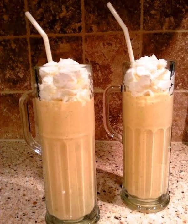 Eggnog Pumpkin Milkshake Recipe
