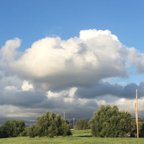 Storm brewing by Annie Cator - Landscapes Cloud Formations ( clouds, sky, troodos, cloudy, storm )